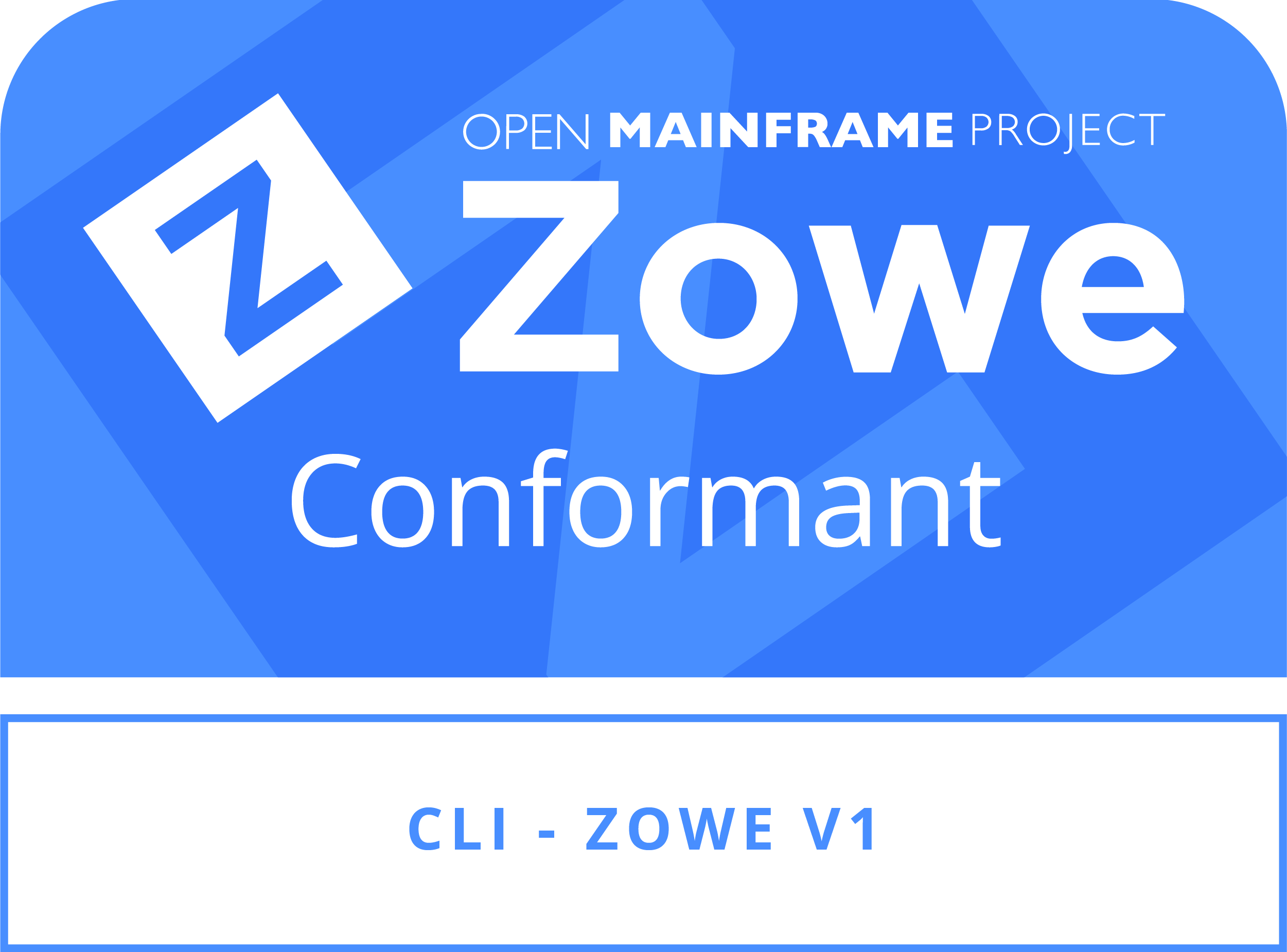 Zowe Conformant
